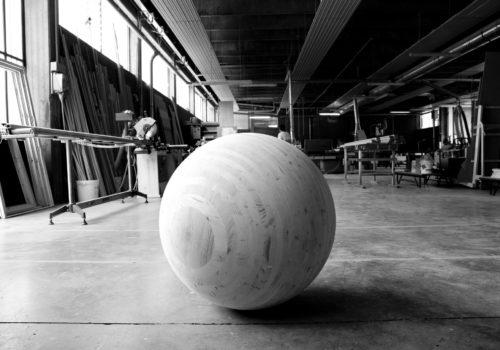 sfera, lavorazione 3d, © luigi tremolada