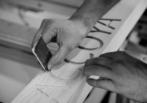 carteggiatura, © luigi tremolada
