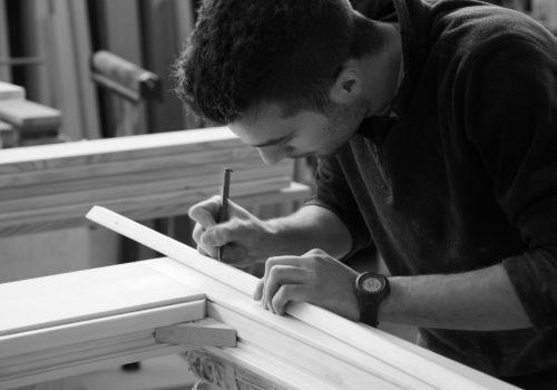 manualità, legno, massello, infisso, © luigi tremolada