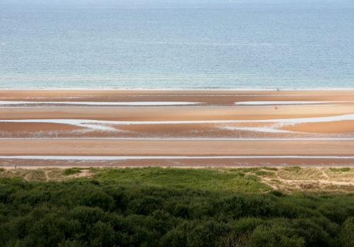 normandia, mare, alta, bassa marea, © luigi tremolada