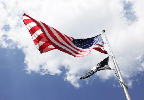 bandiera americana, © luigi tremolada