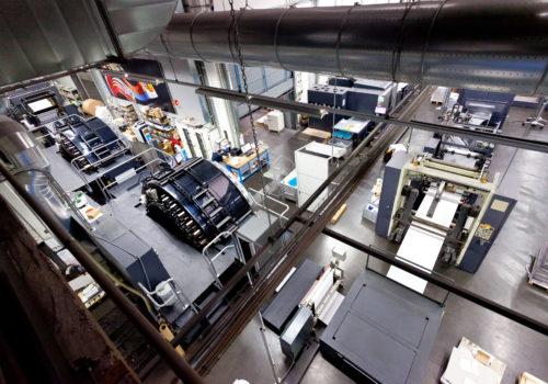 vista reparto digital press rotolito, hp, © luigi tremolada