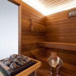 sauna, kh spa, luigi tremolada
